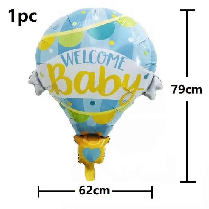 Décorations de douche de bébé c'est un garçon fille sexe révéler ballon il ou elle bébé ballon rose bleu décorations de fête d'anniversaire enfants