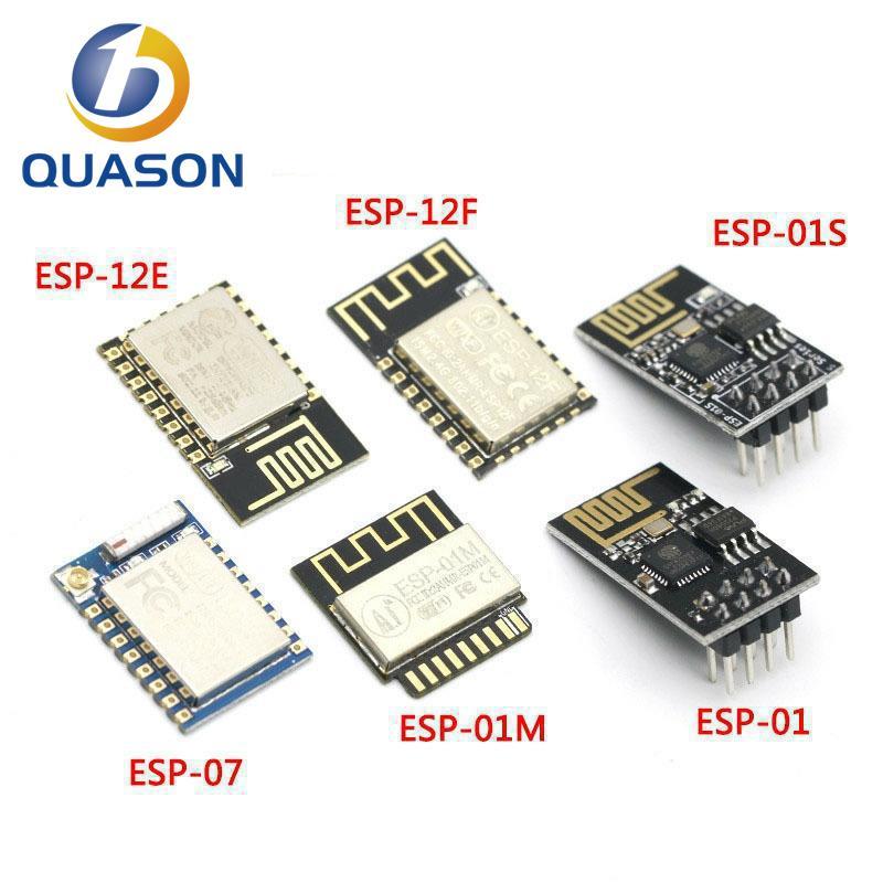 ESP8266 ESP-01 ESP-01S ESP-07 ESP-12 ESP-12E ESP-12F Серийный беспроводной модуль беспроводного приемопередатчика