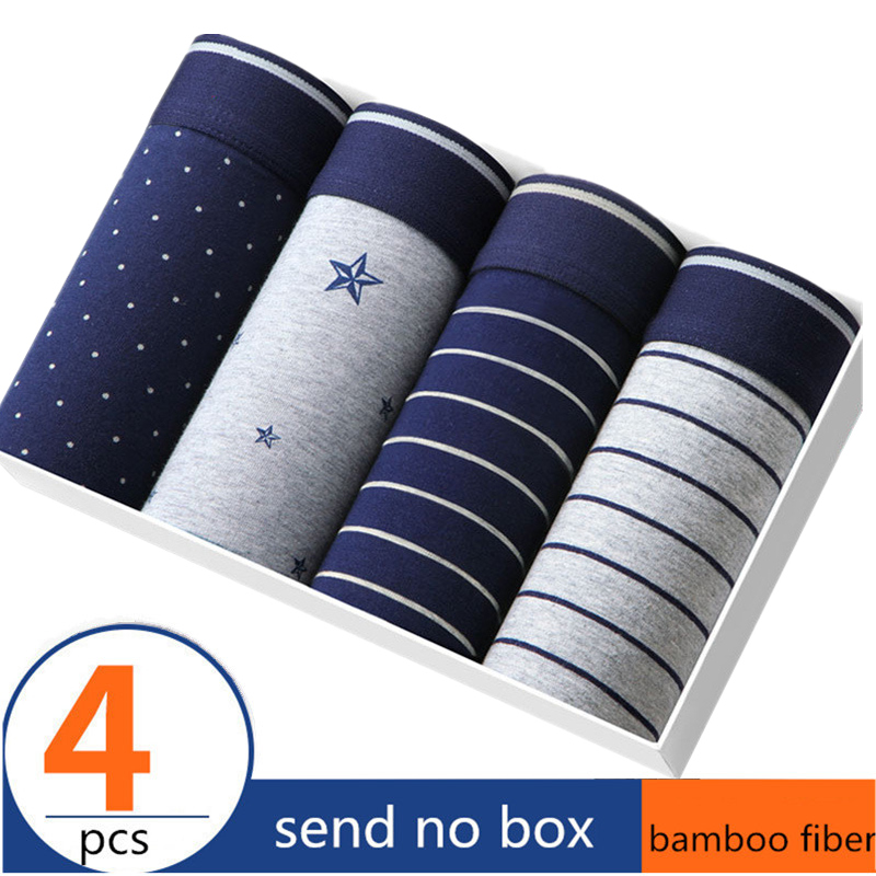 4 pieces Camo Men's Underwear Modal Men Boxer Shorts Plus Size Boxer Tide men camouflage Boxer Homme Cueca Underpants