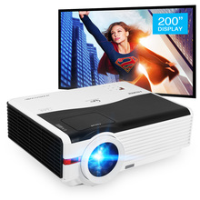 Caiwei A9/A9AB intelligent Android WiFi LCD LED 1080p projecteur Home cinéma Full HD vidéo Mobile projecteur Smartphone TV Miracast Airplay