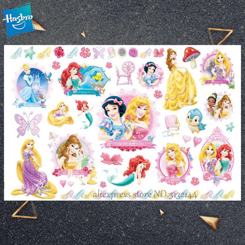 Hasbro Kinderen Cartoon Tiener Pop Tijdelijke Tattoo Sticker Novelty Cosplay Speelgoed Voor Prinses Swhite Party Grappige Sticker