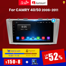 Junsun V1 Android 10 2G+32G DSP Car Radio Multimedia Video Player Navigation GPS 2 din For Toyota Camry 40 50 2007 2008 no dvd
