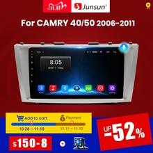 Junsun V1 Android 10 2G + 32G Dsp Auto Radio Multimedia Video Player Navigatie Gps 2 Din Voor toyota Camry 40 50 2007 2008 Geen Dvd