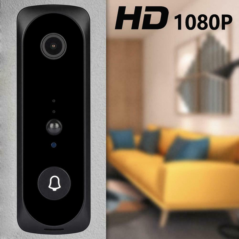 V20 Smart WiFi Video Doorbell Camera Visual Intercom With Chime Night Vision IP Door Bell Wireless Home Security Camera