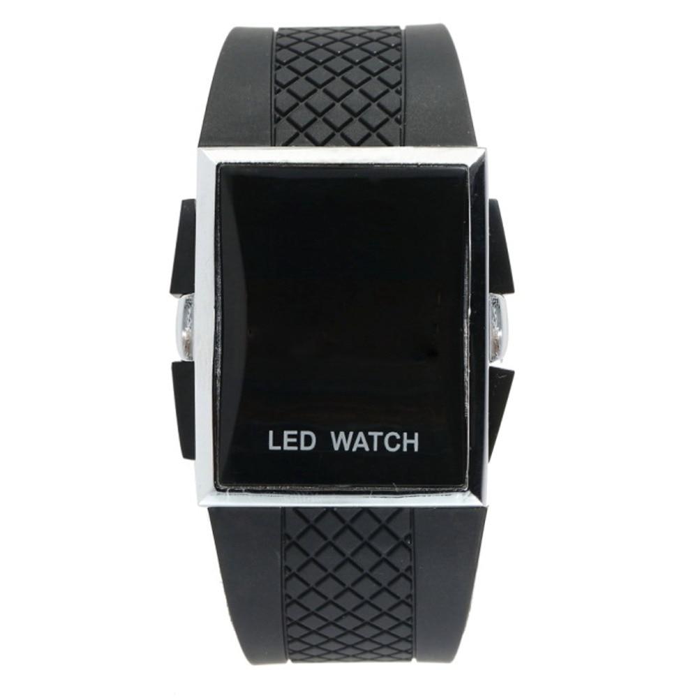 Fashion Unisex Sport Digital LED Sports Wrist Watch Day Date Silicone Strap Belt Boys Girls Kid Relogio Masculino