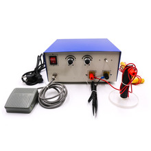 100A Adjustable Pulse Spot Welder Necklace Bracelet Line Laser High Frequency Power Professional Welding 220V AC 600W Power