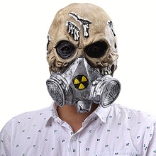 Halloween Horror Biochemical Gas Mask Skull Cover Masks Masquerade  Scary