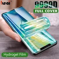 3-1PCS hidrogel de película para Huawei P20 P30 P40 Lite Pro Nova 5T Protector de pantalla Mate 40 30 20 10 Lite Honor 20 Pro 10i no de vidrio protectores de pantalla accesorios del teléfono móvil