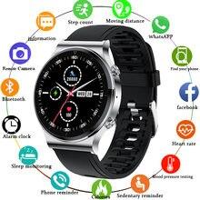 Lige bluetooth телефон смарт часы для мужчин s пульсометр кровяное