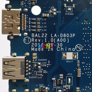 Image 5 - for Dell Inspiron 15.6 5565 G89K3 0G89K3 CN 0G89K3 A12 9700P CPU BAL22 LA D803P DDR4 Motherboard Mainboard System Board Tested