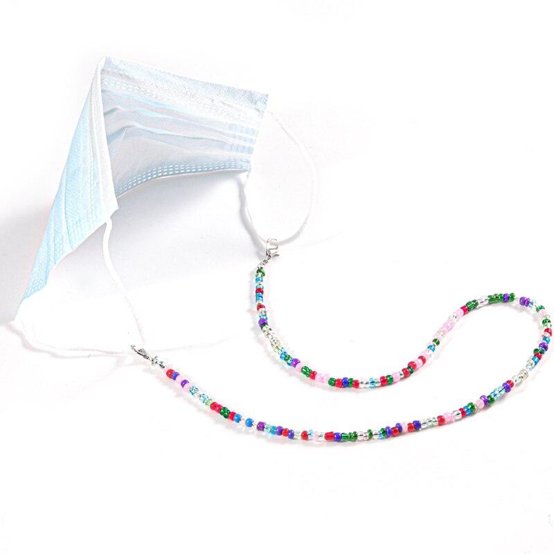 Стеклянные бусины на шею регулируемые солнцезащитные очки ремешок
