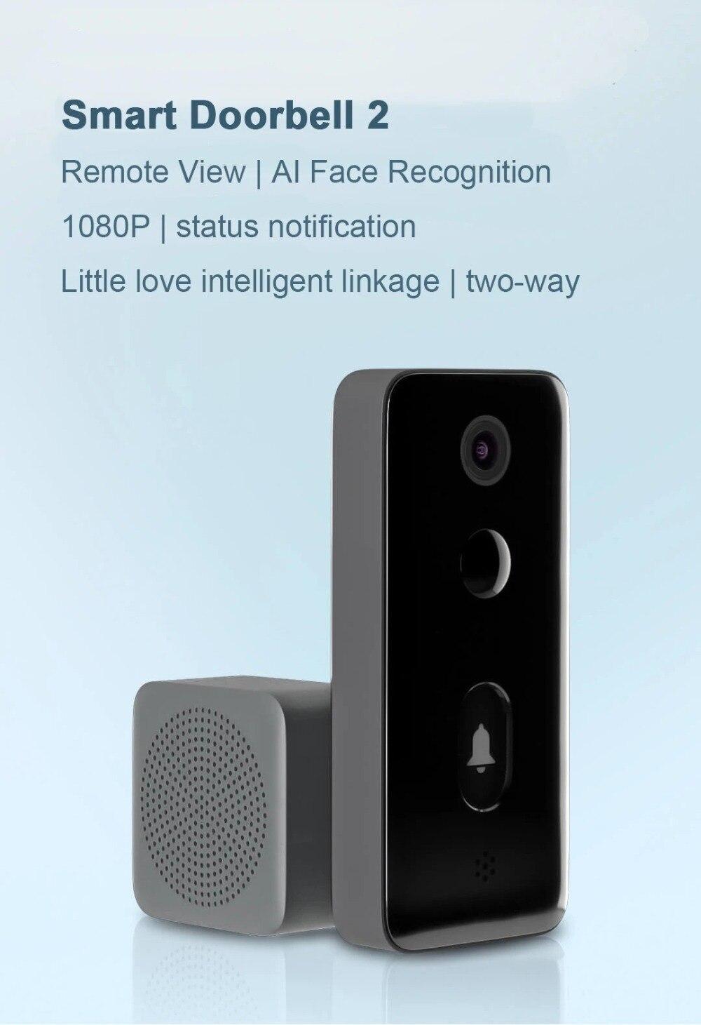 Xiaomi mijia inteligente vídeo campainha 2 lite