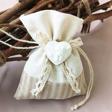 Jewelry Pouch Small Gift Drawstring Candy Bag Holder Pocket For Wedding