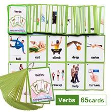 Dzieci Montessori dziecko dowiedz się angielski słowo karty fiszki poznawcze zabawki edukacyjne obraz zapamiętaj gry prezenty dla dzieci