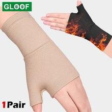 Golfista compressão pulso polegar banda cinto túnel carpal mãos suporte de pulso cinta luva tenosynovitis artrite luvas