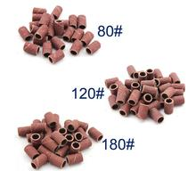 цены 50PCS//LOT Nail Art Sanding Bands for Nail Electric Drill Manicure Pedicure Machine Nail Tools