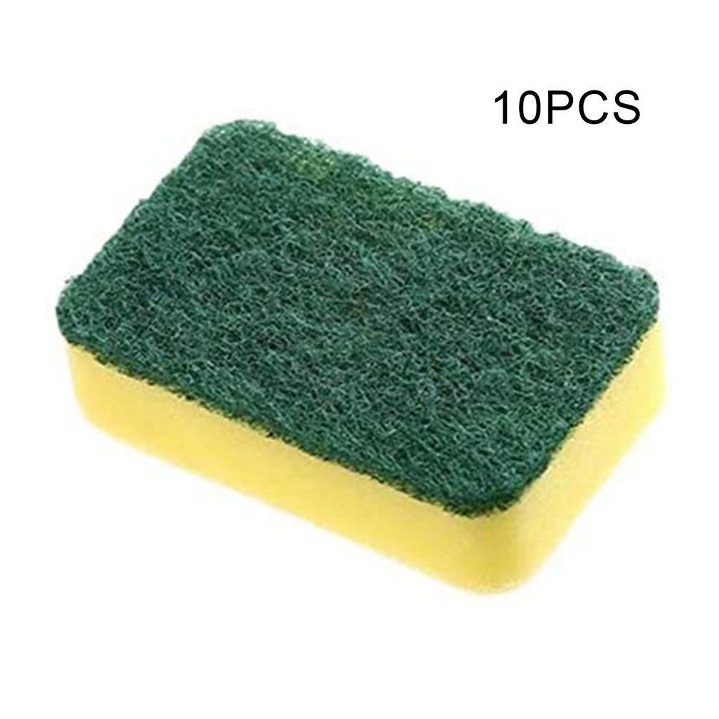 10pcs cleaning wipes High density sponge Home Dishwashing and cleaning Strong water absorption Double side effect
