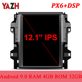 """YAZH 12.1"""" IPS GPS Display For Toyota Fortuner 2016 2017 2018 2019 Android Pie Car Multimedia With DSP Bluetooth 5.0 Carplay"""