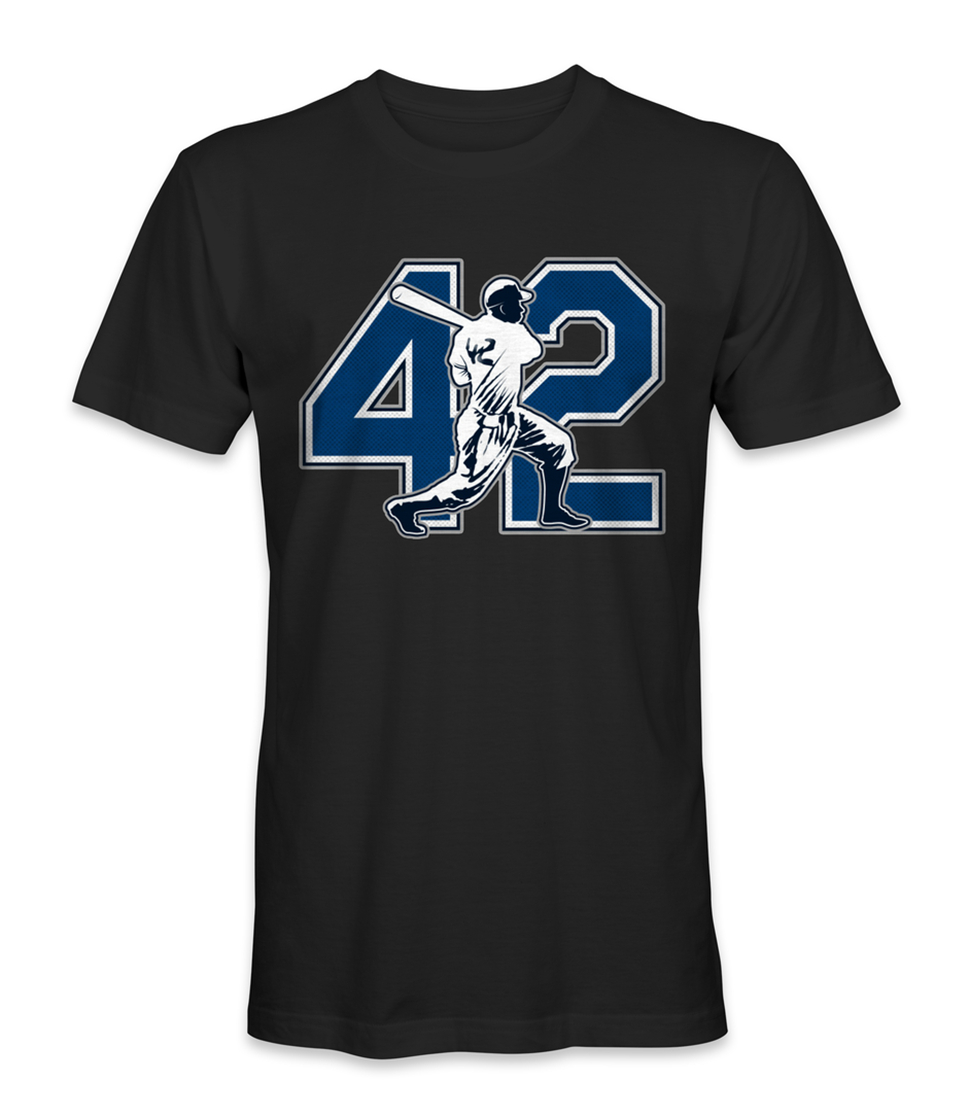 Jackie Robinson Baseball Legend T-Shirt Top Christmas Gifts Tee Shirt image