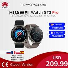 【CODE:08ESOW15 €150-15】HUAWEI-reloj inteligente Watch GT 2 pro, dispositivo con batería de 14 días de duración, GPS, carga inalámbrica, Kirin A1, GT2 Pro, versión Global, disponible