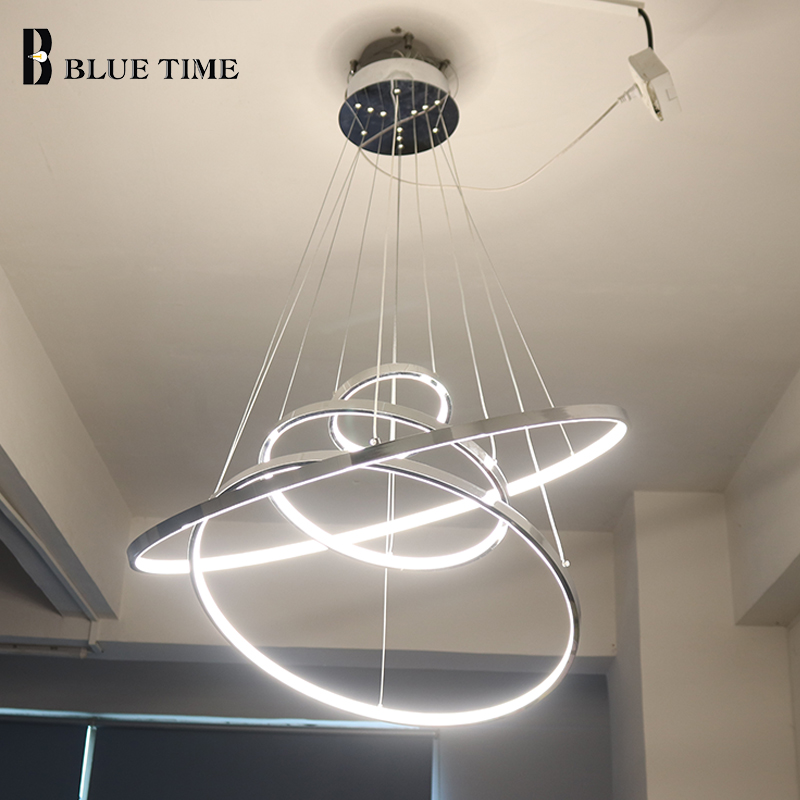 Home Garden Chandeliers Ceiling Fixtures Modern Dining Room Chandelier Led Pendant Light Kitchen Lamp Chrome Lighting Stbalia Ac Id