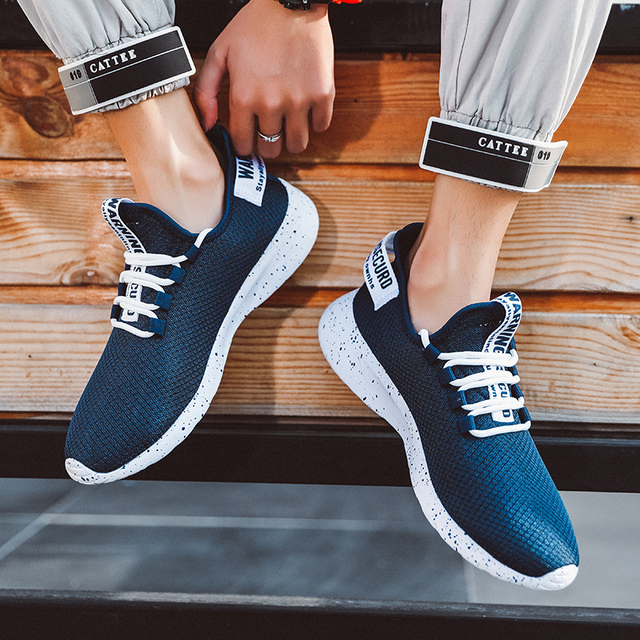 Men Vulcanize Shoes Sneakers Breathable Men Casual Shoes No-slip Male Lace Up Men Shoes Lightweight Tenis Masculino Wholesale 6