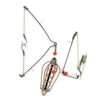 15G 20G 25G 30G Balıkçılık Yem Kafesi Yem Cazibesi Bakır Tuzak Sepeti Besleyici Tutucu Kanca Ile Sazan Olta Takımı Aksesuarları