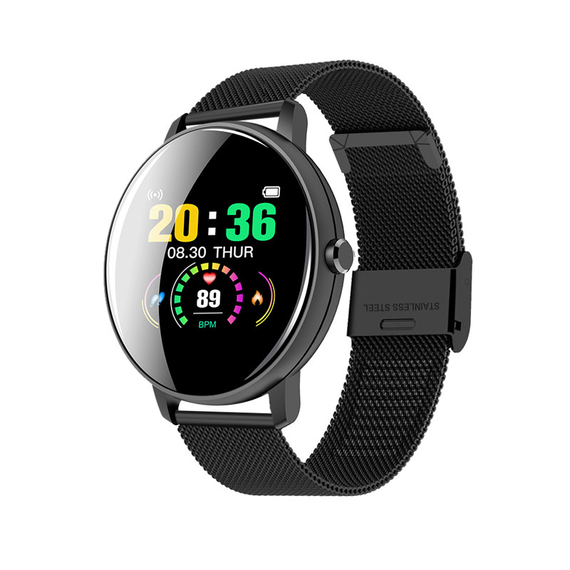 Hd2b8eb4991ea4170acaf1dc854654533G 2020 Full Touch Smart Watch Men Blood Pressure Heart Rate Monitor Round Smartwatch Women Waterproof Sport Clock For Android IOS