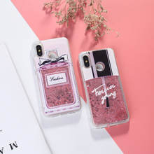 For Xiaomi Redmi Mi 8 Case Liquid Glitter Note 5 7 Pro 4 4X 4A 5A S2 Plus Dynamic Quicksand Cover
