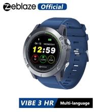 Zeblaze reloj inteligente VIBE 3 HR para hombre, deportivo, resistente al agua, IP67, control del ritmo cardíaco