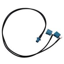50cm Auto GPS Antenne Splitter Kabel Zubehör Fit für BMW Mercedes Benz Audi Audio Media Navigation System Android bildschirm