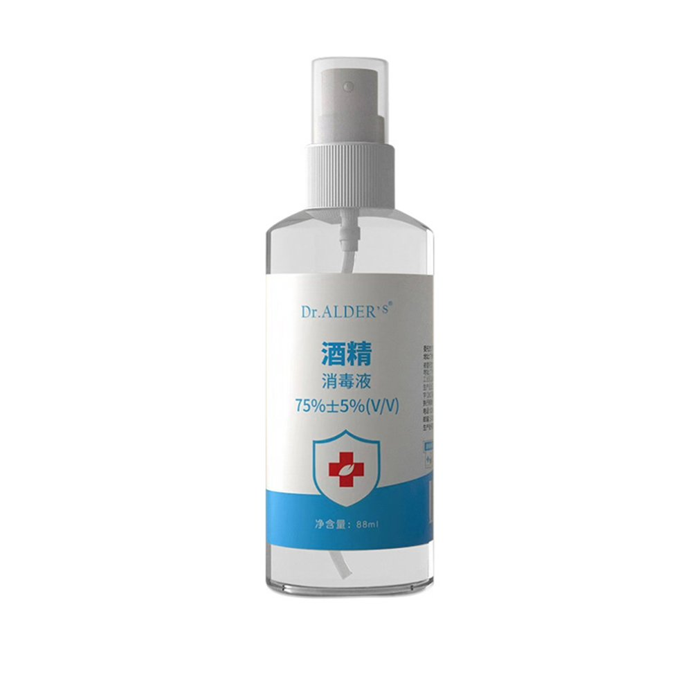 75 Degree Alcohol Medical Disinfectant 75% Ethanol Excellent Disinfection Liquid Disposable Hands Alcohol Spray 1 Piece