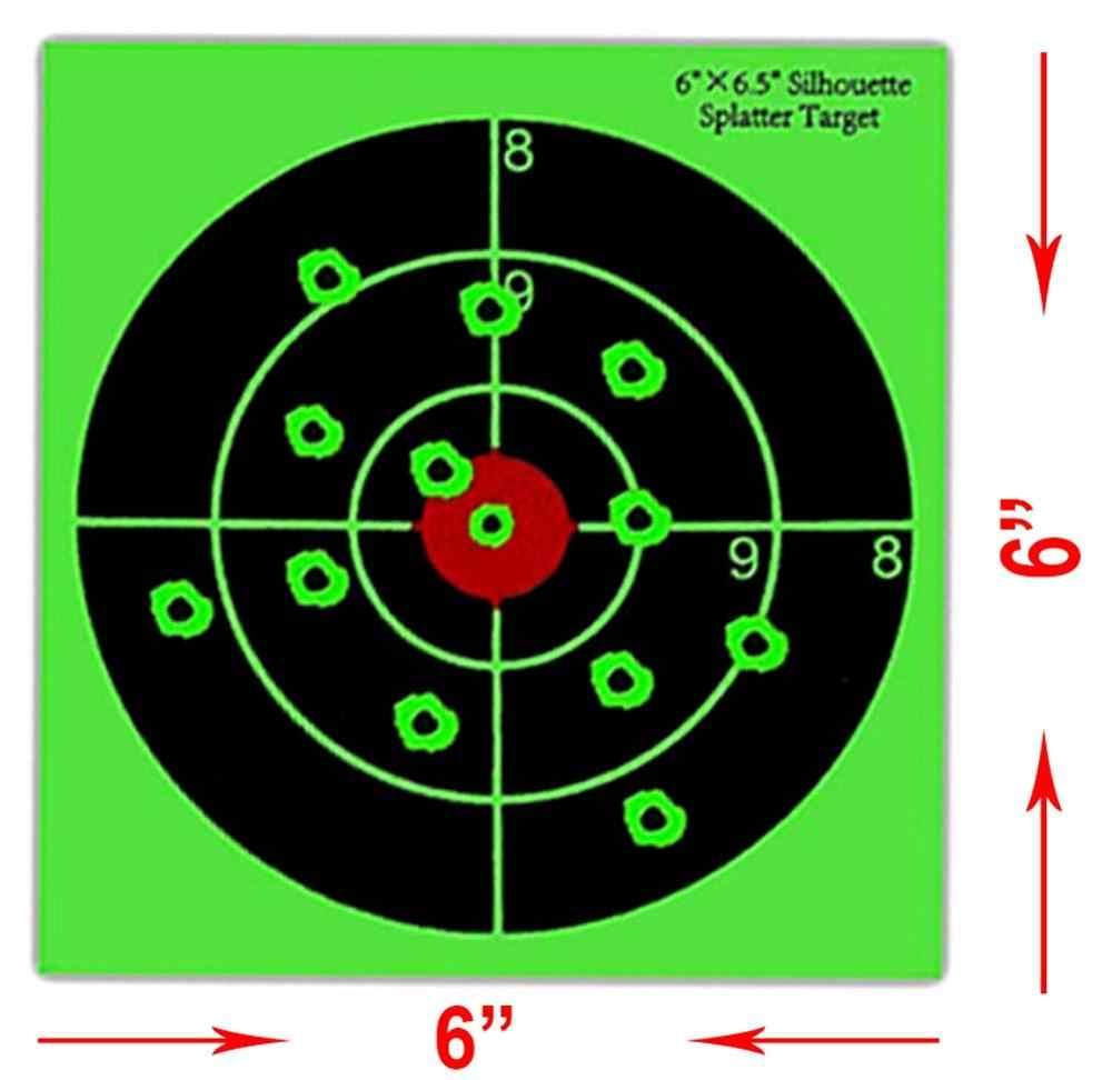 ورقة الرماية التفاعلي خيال بولس رش أهداف-راجعي يضرب على الفور-الصيد أهداف سبلاش الهدف
