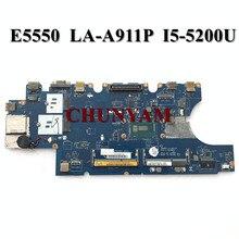 LA-A911P For Dell Latitude E5550 Motherboard I5-5200U CN-08FP65 8FP65 M5HV7 Mainboard 100% tested