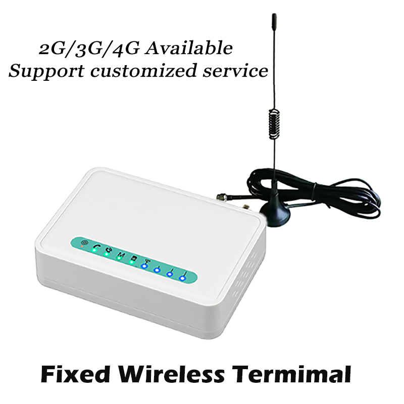 3G 4G Fixed Wireless Terminal Support Alarm System Desktop Phone Audio Cassette Lansline Phone Desk SIM Fixed Phone