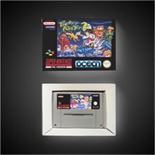 Pocky & Rocky 2 tarjeta de juego de acción versión europea con caja de venta al por menor