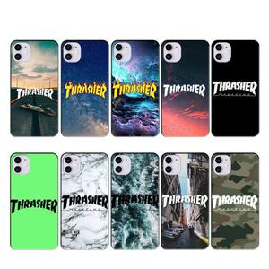 Thrasher Goat Skateboard case coque fundas for iphone 11 PRO MAX X XS XR 4S 5S 6S 7 8 PLUS SE 2020 cases cover(China)
