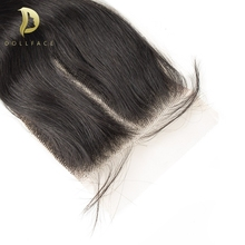 Closure 4x4 Remy-Hair Body-Wave Pre-Plucked Deep Straight 100%Human-Hair
