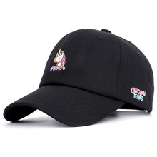 Go Real  Dad Hat The New 2019 And Personality Unicorn Baseball Cap Autumn Winter Sweet Lovely Cartoon Design Of