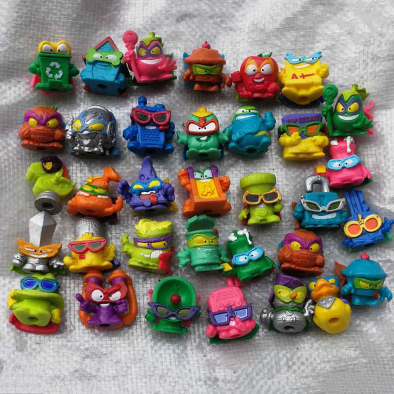 10pcs Lot Original Super Zings 1 6 Superzing Cartoon Silver Figure Trash Can Bin Ultra Rare Limited Collection Toy For Kid Child Action Figures Aliexpress
