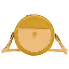 Round Circle Crossbody Bags for Women 2019 Summer Beach Bag Women Shoulder Bag Messenger Bag Ladies Tote Bag Handbag Bolso Mujer