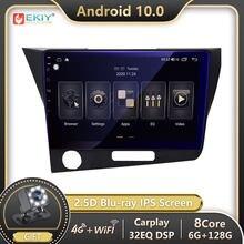 Ekiy 6g 128g dsp autoradio 2din android 10 para honda crz CR-Z rádio do carro reprodutor de vídeo multimídia navegação gps bt estéreo carplay
