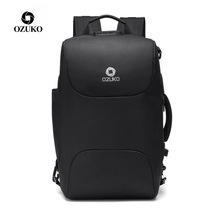 OZUKO Men Business Backpacks USB Charging 15.6