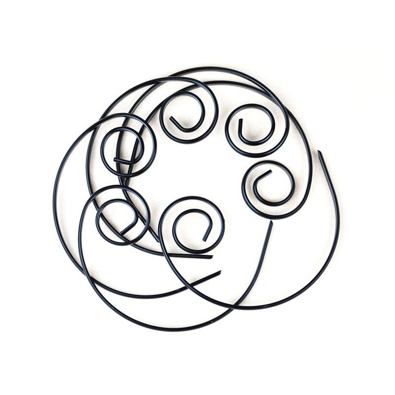 6 шт. набор шашлыков Kebob с круговым шашлыком, антипригарная мини-черная закуска, шашлык, презентация, палочка для барбекю, диаметр 4,5 '', специальный дизайн