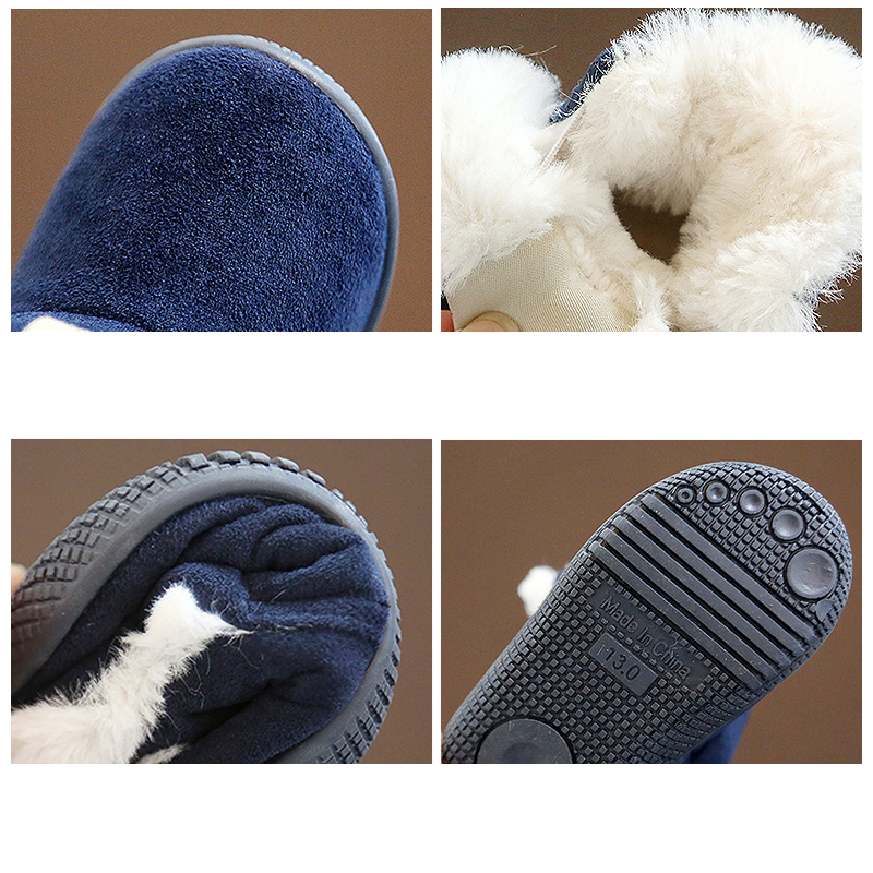 Winter Warm Elastic Band Snow Boots 6