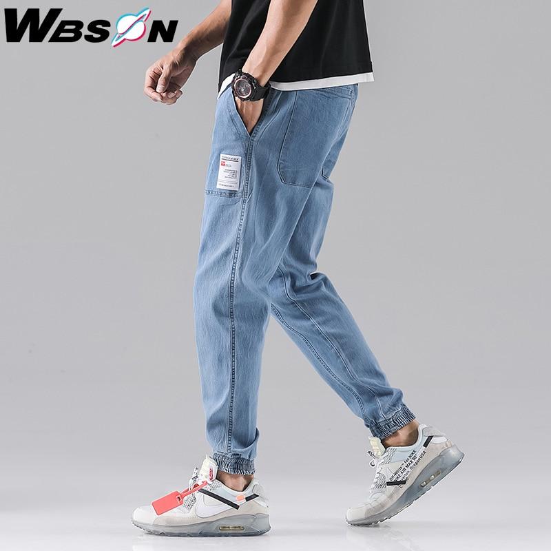 Wbson Men Jeans Men Fashions Men Baggy  Slim Jeans Men  Jogger Jeans Jeans Men Cargo Jeans SYG2307