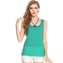 цены на Fashion Candy Colors Ladies Top Summer Pullovers Loose Sleeveless Women Vest Casual Sexy Solid V Neck Daily Tank Tops Camis в интернет-магазинах
