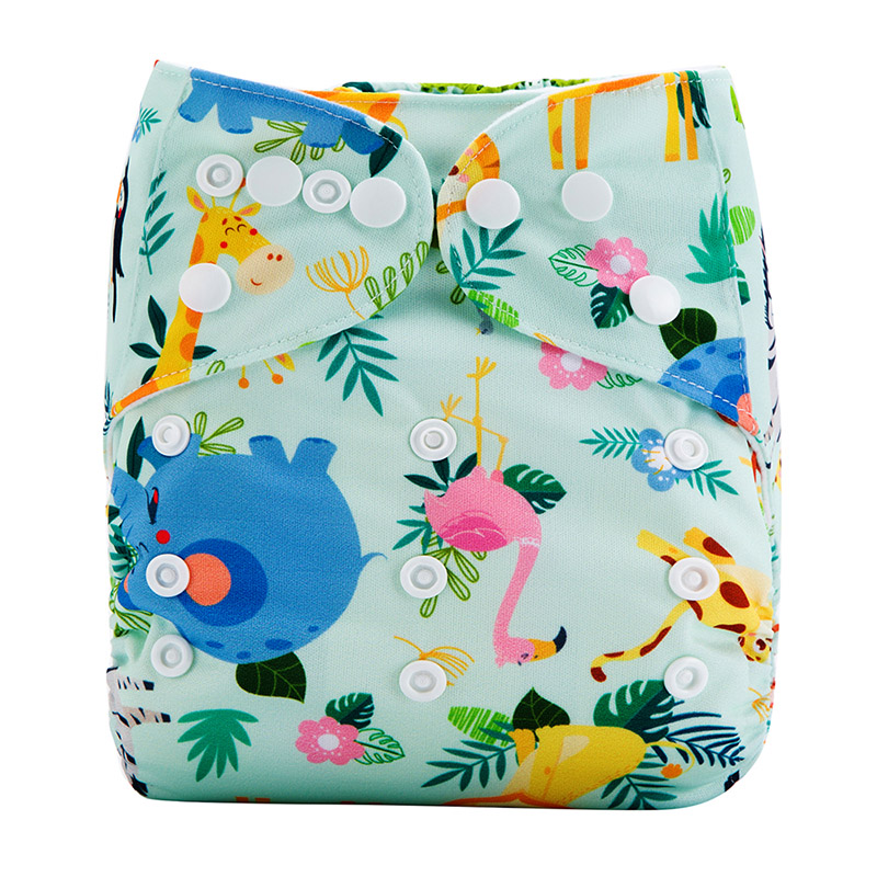 China Cloth Diapers All In One Reusable Organic Modern Cloth Nappy Washable Cloth Diapers M28