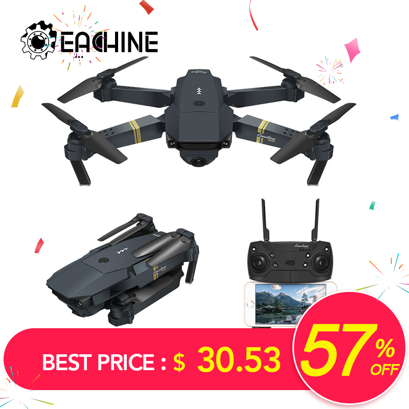Eachine Quadcopter Camera FPV Mavic-Pro WIFI Foldable with Wide-Angle 2MP HD High-Hold-Mode