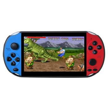 X12PLUS 8GB Retro PSP Handheld Video Game Player 5.1 Inches Built-in 2000 GBA FC NES Games Supporting Camera and 30W Pixels